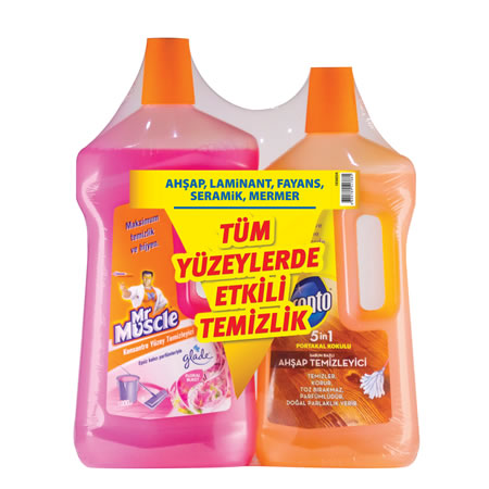 MR MUSCLE - SURFACE CLEANING -KITCHEN CLEANING-BATH CLEANING