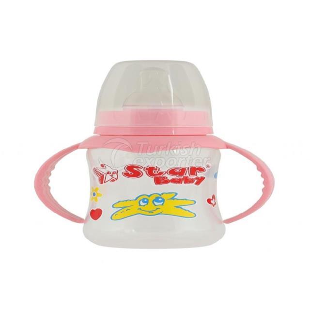 Feeding Bottle - 150 ml Handled Polypropilen (PP)