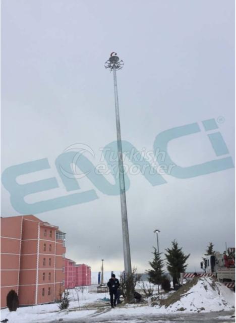 Elevator Projector Poles