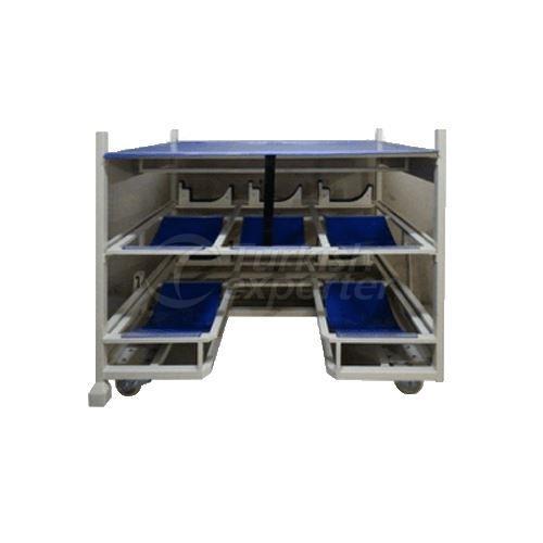 Caja de transporte HVAC