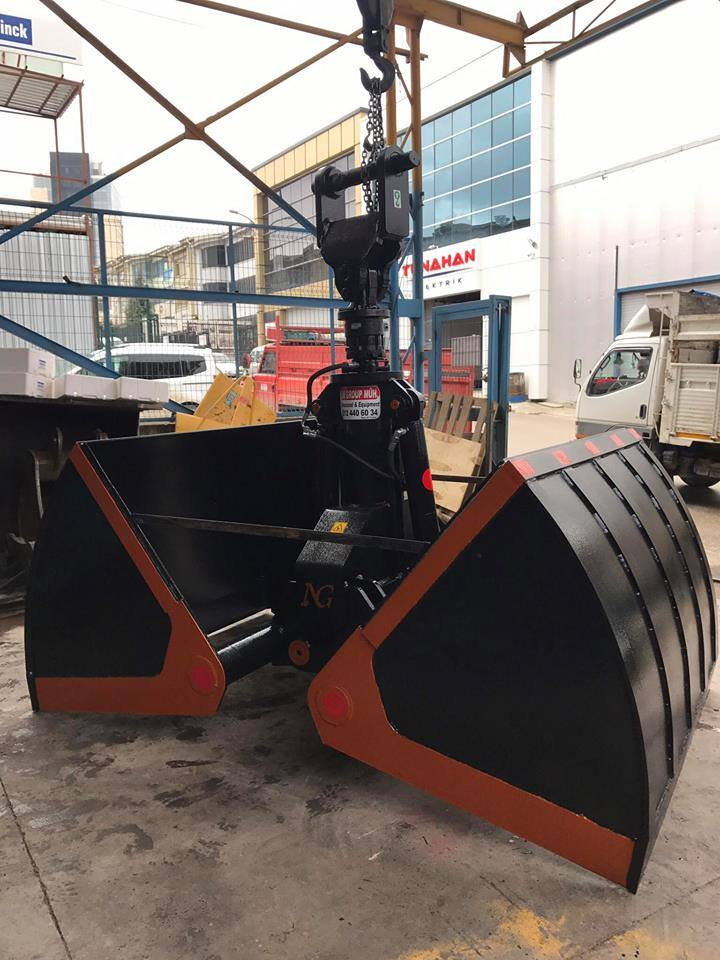 Digging Grabs for Excavator-Clamshell Buckets