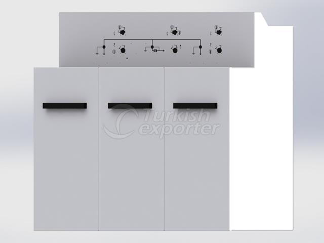 مجموعة المفاتيح الكهربائية المعزولة بالغاز (RMU)
