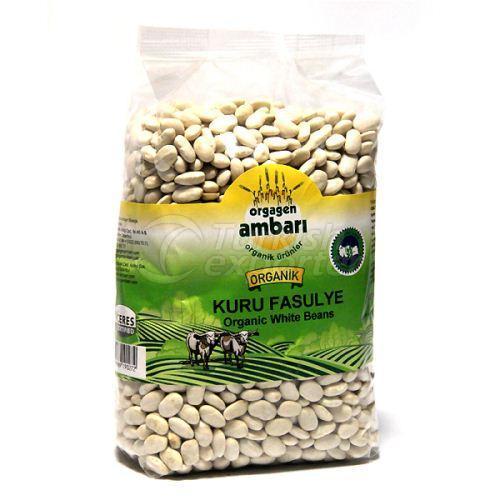 Organic White Beans 1000 Gr