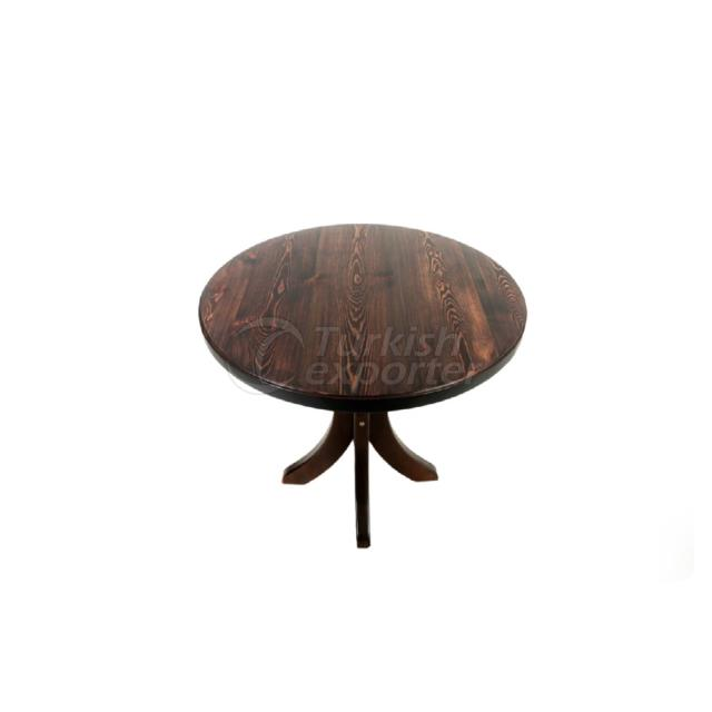 Wooden Table 80cm.