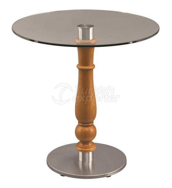 Mesa de vidrio MSS-PRTO-GLS-Table Ø 70cm