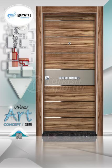 Steel Door - Insta 301