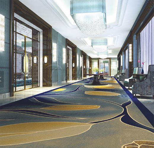 printed hotel carpets