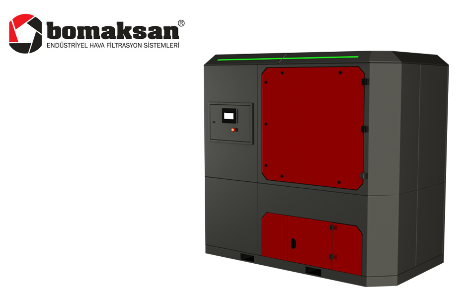 Compact Panel Dust Collector