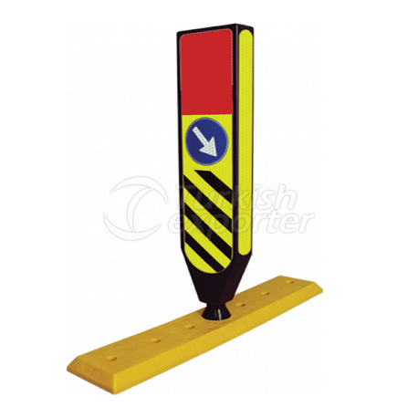 Sinal de Refúgio Flexível com Base Seperator - CR 2603