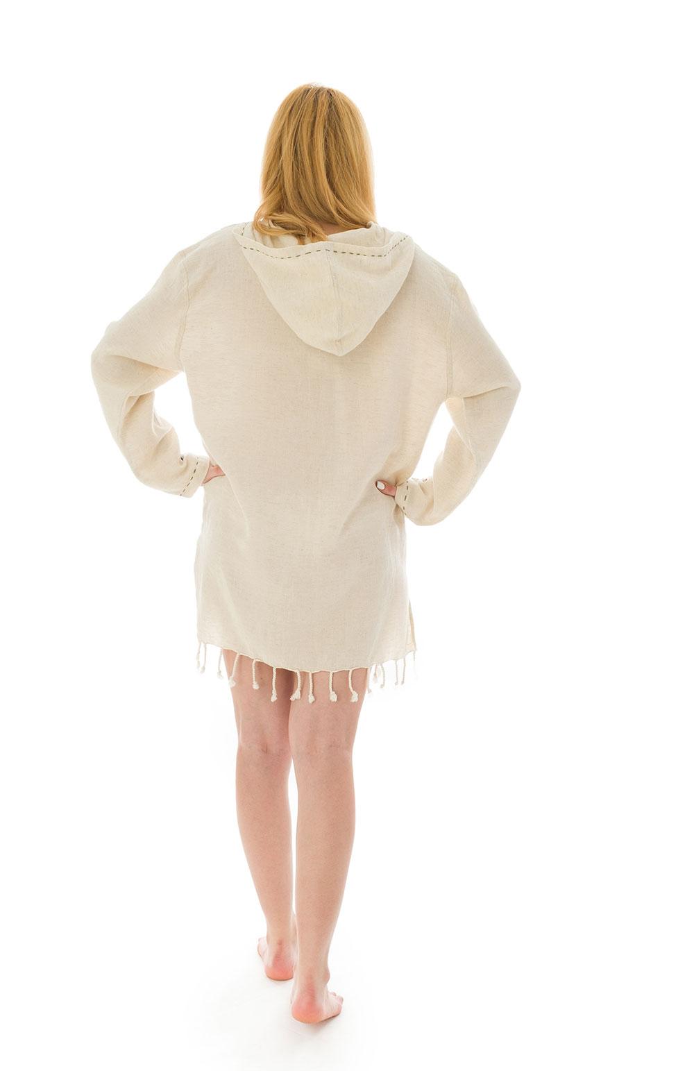 AMBRE BEACH DRESS - hand made