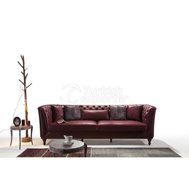 Juego de sofás Verde
