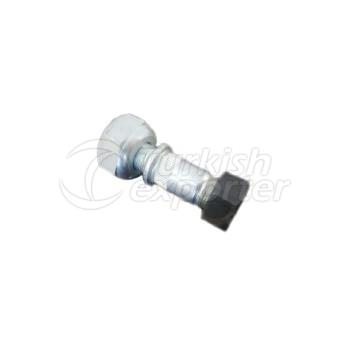 WHEEL BOLT AND NUT FRONT LEFT FOR I