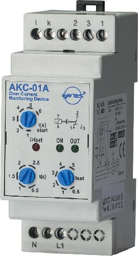 AKC-01A Model Akım Koruma Röleleri