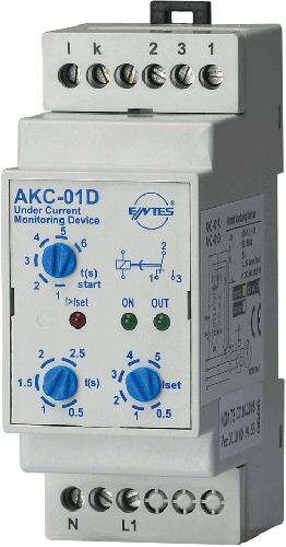 AKC-01D Model Akım Koruma Röleleri