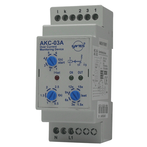 AKC-03A Model Current Monitoring Relays