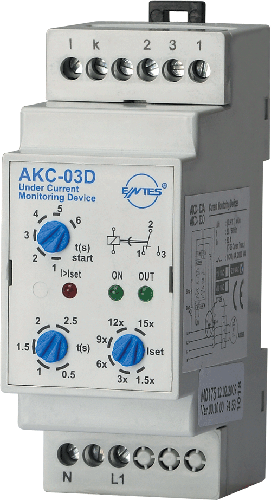 AKC-03D Model Current Monitoring Relays