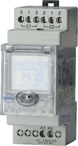 DTR-10 Model مقياس كهربائي زمني