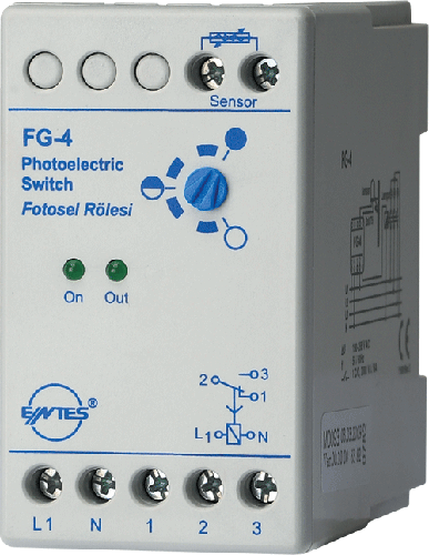 FG-4 Model Fotosel Röleler