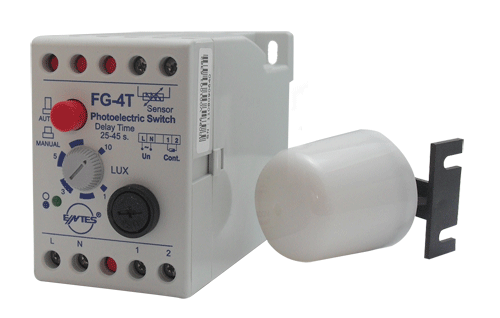 FG-4T Model Photocell Relays