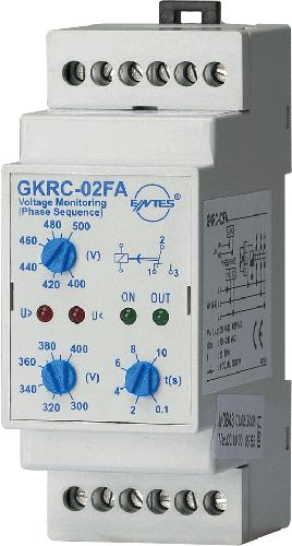 GKRC-02FA Model   محولات حماية جهد