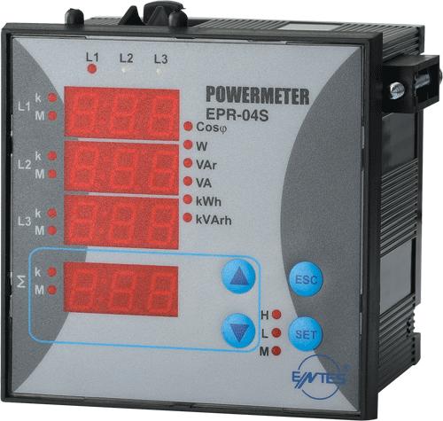 EPR-04S-96 Model Power and Energy Meters