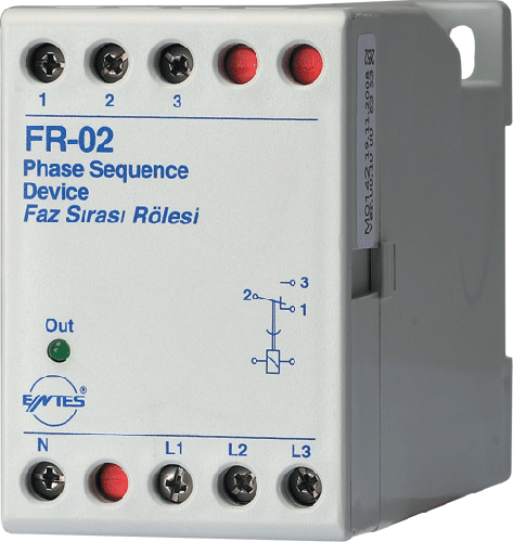 FR-02 Model Motor - Phase Protection Relays