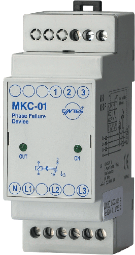 MKC-01 Model Motor - Phase Protection Relays