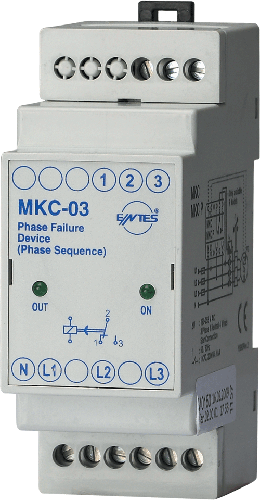 MKC-03 Model Motor - Phase Protection Relays