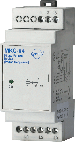 MKC-04 Model Motor -   حماية تغييرات كهربائية