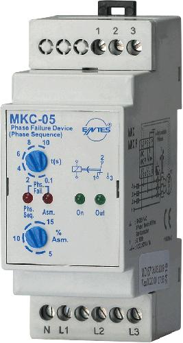 MKC-05 Model Motor - Faz Koruma Röleleri