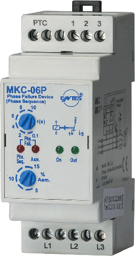 MKC-06P Model Motor - Phase Protection Relays