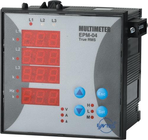 EPM-04h-96 Model Multimetreler