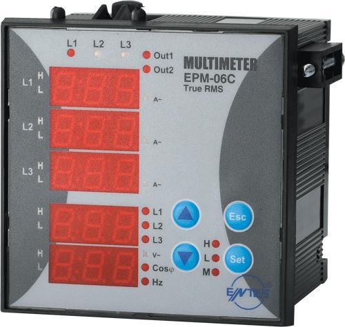 EPM-06S-96 Model Multimetreler