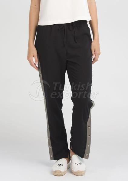 سروال بيني - كاكي أسود