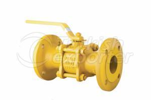 GAS BALL VALVE(3 PARCALI MOP 5-20 - PN 16 - PN 25)