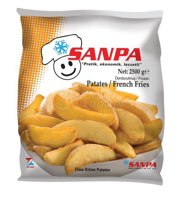 Patates Elma Dilim  2500 G