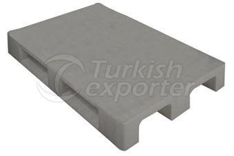 Plastic Pallet 1000*1200*150/Monobloc Solid