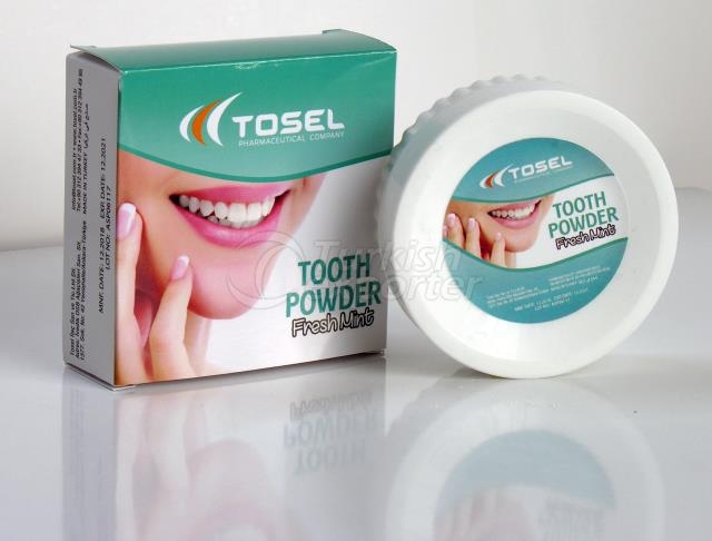 Tosel Tooth Powder Mint