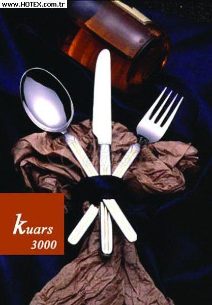 Kuartz 3000 fork-spoon-knife