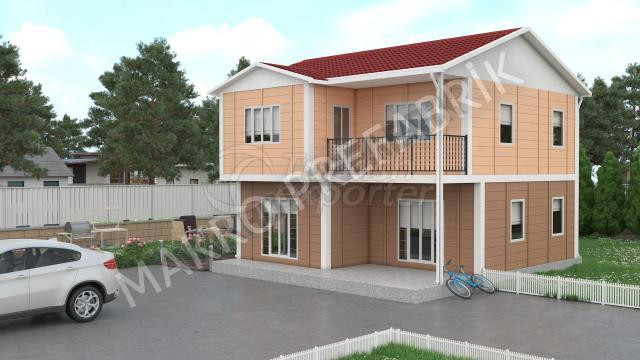 Double Floor Houses 122 m²