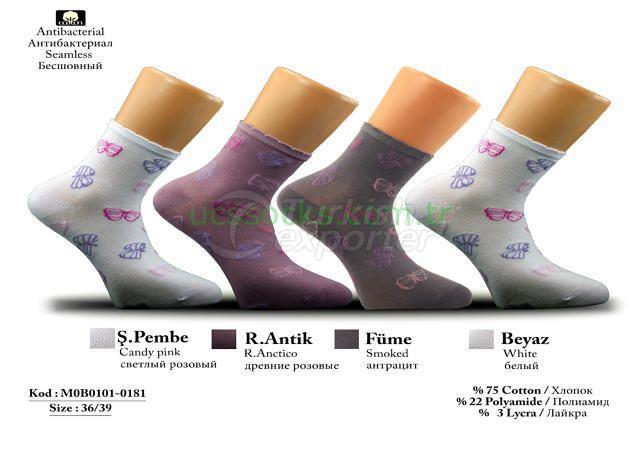 Women Socks M0B0101-0181