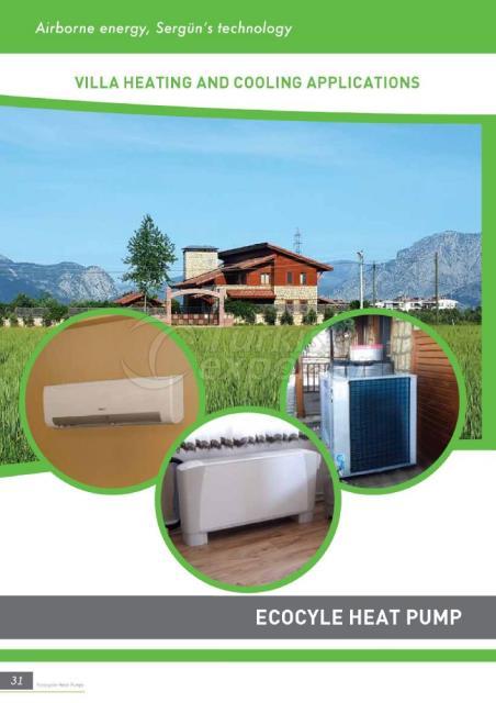 Ecocycle مضخات حرارية