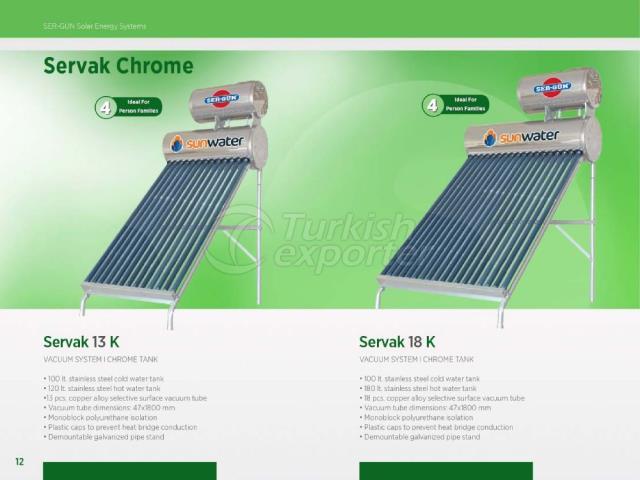 Solar Enerji Servak 13K - 18K