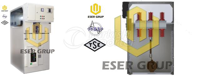 METAL ENCLOSED MV SF6 SWITCHGEAR