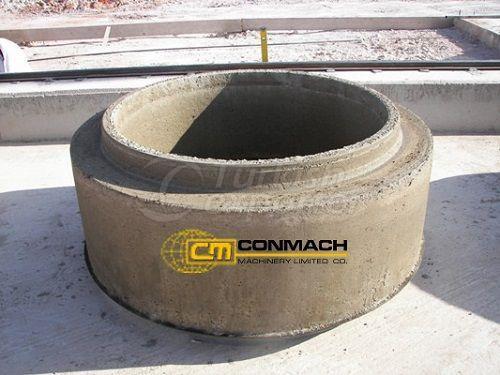 Concrate Manhole Machine