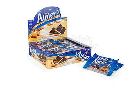 Tablet Alpes Caramelo De Chocolate
