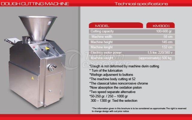 Dough Cutting Machine Stainless Steel