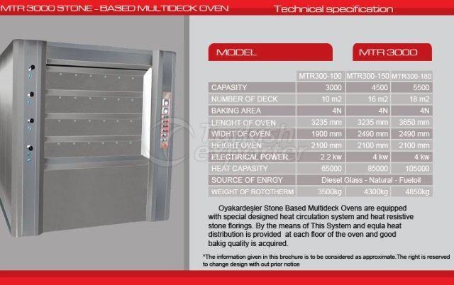 Stone Based Multideck Oven