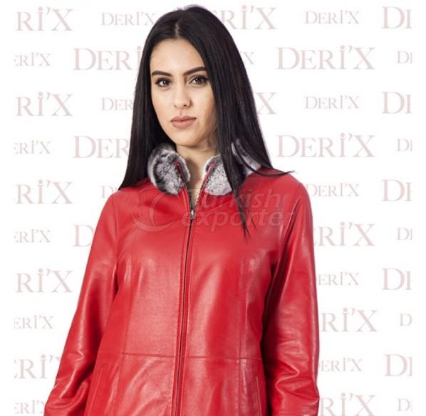 Leather Jackets B - Mono Red
