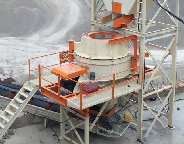 Trituradores de impacto de eixo vertical